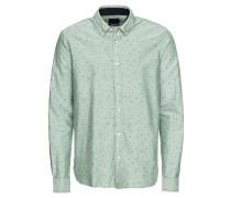 Hemd pastellgrün / offwhite