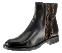 Chelsea Boots braun / dunkelgrün / schwarz