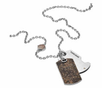 Kette mit Anhänger 'double DOG TAG Dx1079040'