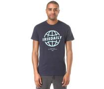 Globedaily T-Shirt ultramarinblau