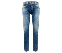 Jeans 'niels' blue denim