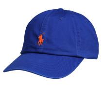 Cap royalblau / orange