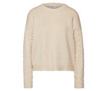 Pullover 'Recall pearls' creme