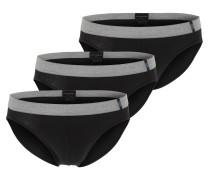 Rio-Slip (3er-Pack) grau / schwarz