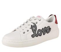 Sneaker 'goldie' weiß
