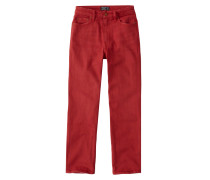 Hose 'red Simone Ankle Straight'