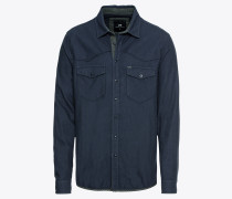 Hemd 'femace Shirt' navy / grün