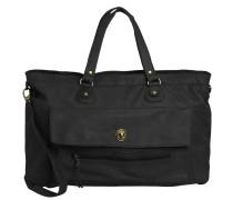 Tasche Leder-Reisetasche schwarz