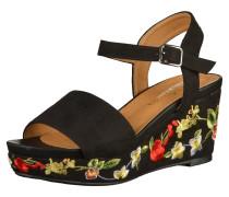 Sandalen mischfarben / schwarz
