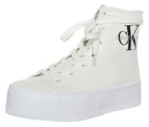 High Sneaker 'Zabrina' weiß