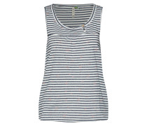 Top 'giselle Organic' navy / weiß