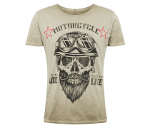Shirt 'MT Bearded Bikder' khaki