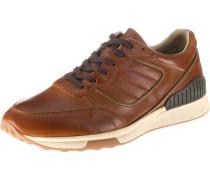 Sneakers creme / braun / anthrazit