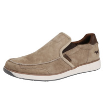 Bequeme Slip-On Sneaker taupe