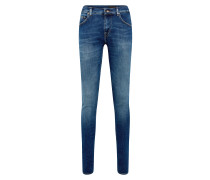 Jeans 'slim.' blue denim