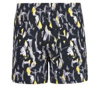 Boxershorts gelb / grau / schwarz / weiß