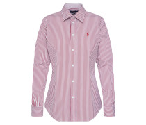 Bluse 'kendal' rot / weiß