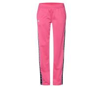 Hose 'elvira' pink / schwarz