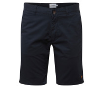 Hose 'hawk Short Chino Twill' navy