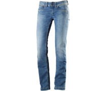 Bootcut Jeans Damen blue denim
