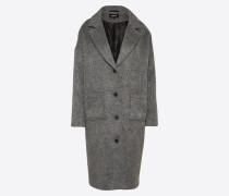 Mantel 'Halma' graumeliert