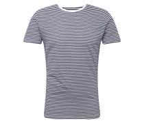 Shirt 'ocs F bas strcn' blau / weiß