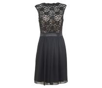 Kleid'Cocktailkleid mit Spitzenoberteil'