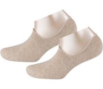 Socken 'Invisible' naturweiß