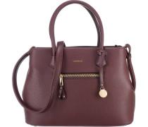 Handtasche 'Maxima' burgunder