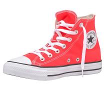 Sneaker weiß / neonrot