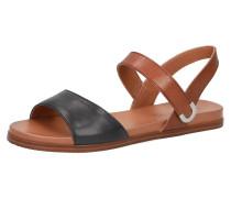 Klassische Sandalen schwarz