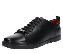 Eleganter Sneaker 'Flat' schwarz