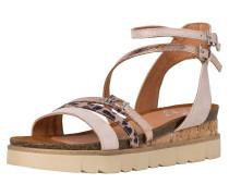 Sandale hellpink / braun