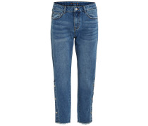 7/8 Loose Fit Jeans blue denim
