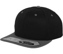 Snapback '110 Fitted' grau / schwarz