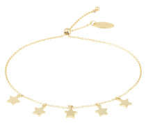 Armband 'Star Charm Drop Slider' gold