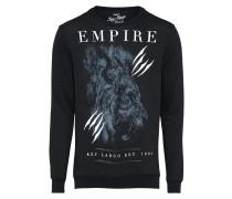 Sweatshirt 'british Empire' schwarz