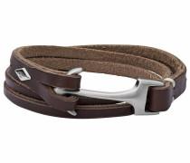 Armband 'jf02205040' braun / silber