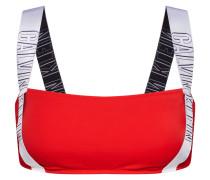 Bikinihose rot / weiß