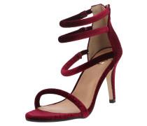 Sandale 'rosebloom' burgunder
