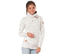 Sweatshirt grau / naturweiß