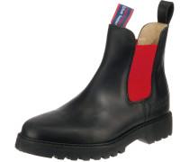 Chelsea Boots 'Jackaroo' rot / schwarz