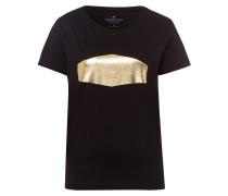 Shirt schwarz / gold
