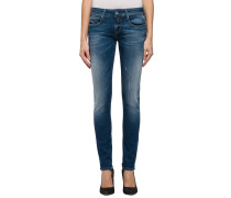 Jeans 'Rose' dark blue blau