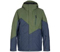 Snowboardjacke 'Feiz' marine / oliv