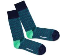 Socken 'Under Water Lines'