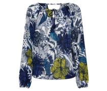 Bluse 'Amandine' navy / mischfarben
