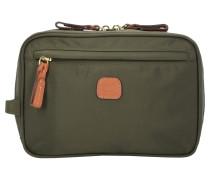 X-Bag Kosmetiktasche 21 cm braun / khaki