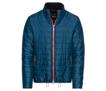Steppjacke 'locking' blau