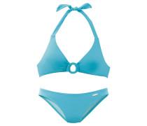 Triangel-Bikini aqua / hellblau